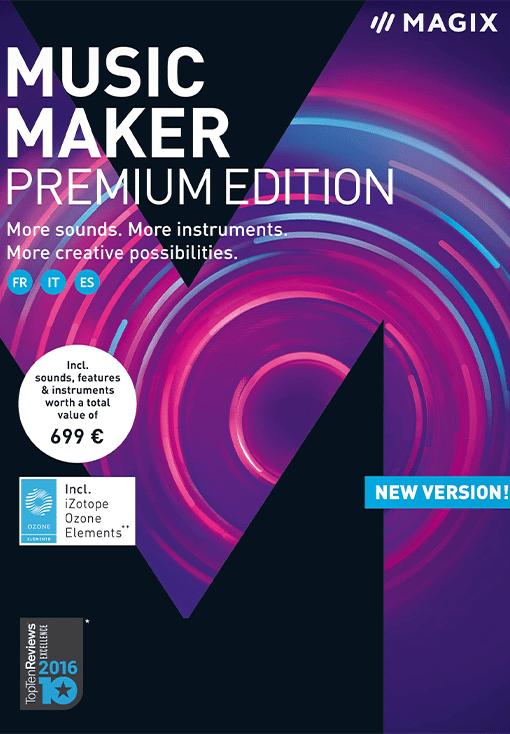 MAGIX Music Maker Premium Edition 2018