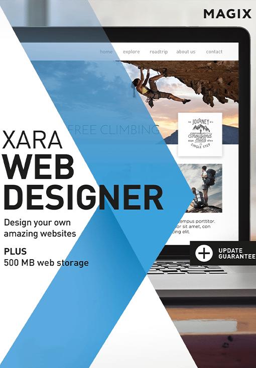 Image de XARA Web Designer