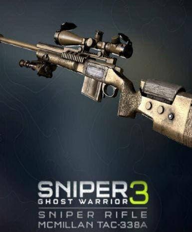 Bilde av Sniper Ghost Warrior 3 - Sniper Rifle McMillan TAC-338A |ROW|