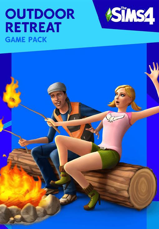 The Sims 4 Outdoor Retreat resmi