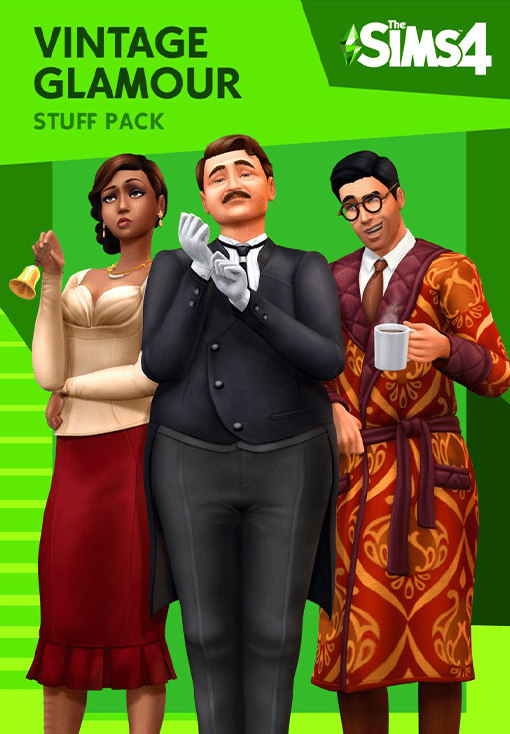 The Sims 4 Vintage Glamour Stuff