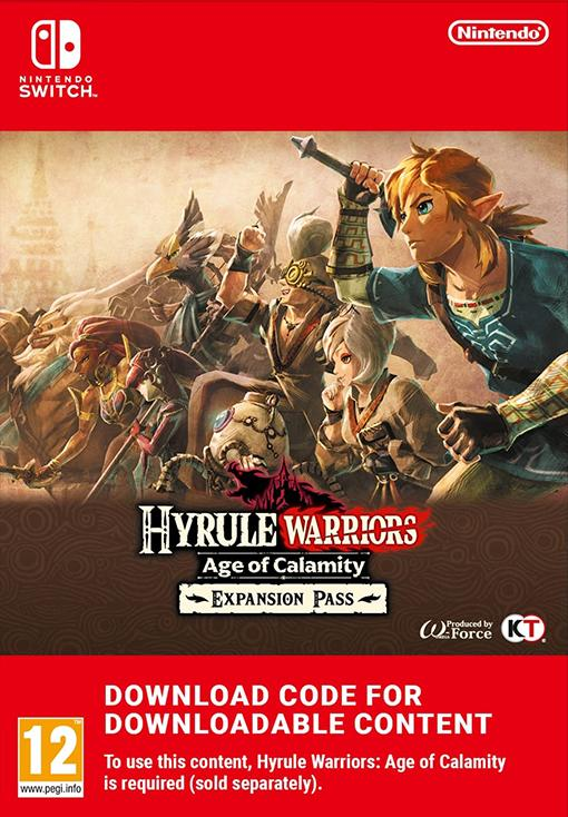 Hyrule Warriors Age of Calamity Expansion Pass EU Nintendo Switch