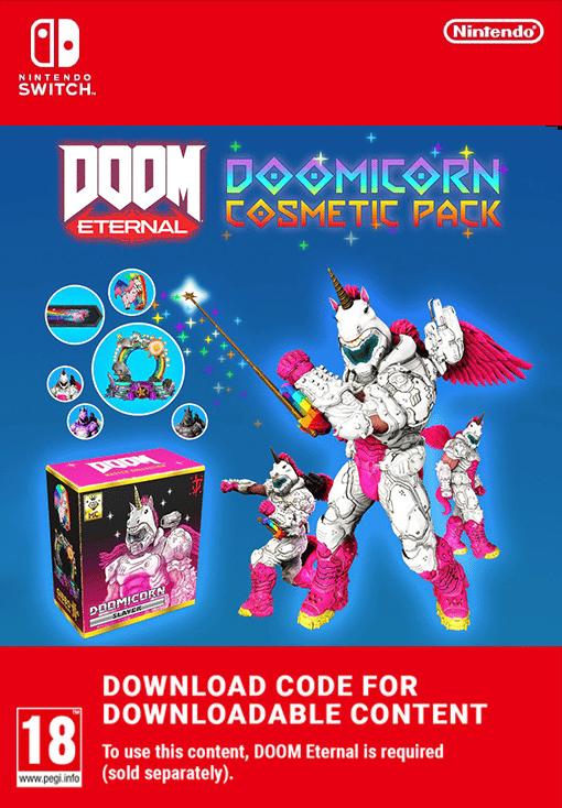 DOOM Eternal: DOOMicorn Master Collection Cosmetic Pack EU Nintendo Switch