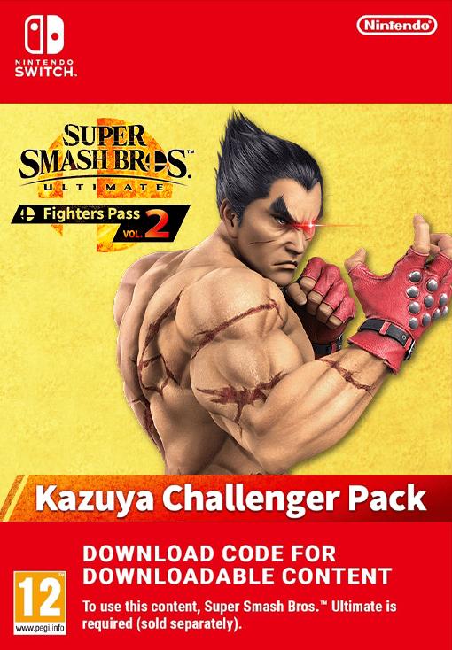 Super Smash Bros. Ultimate Challenger Pack 10 Kazuya from TEKKEN EU Nintendo Switch