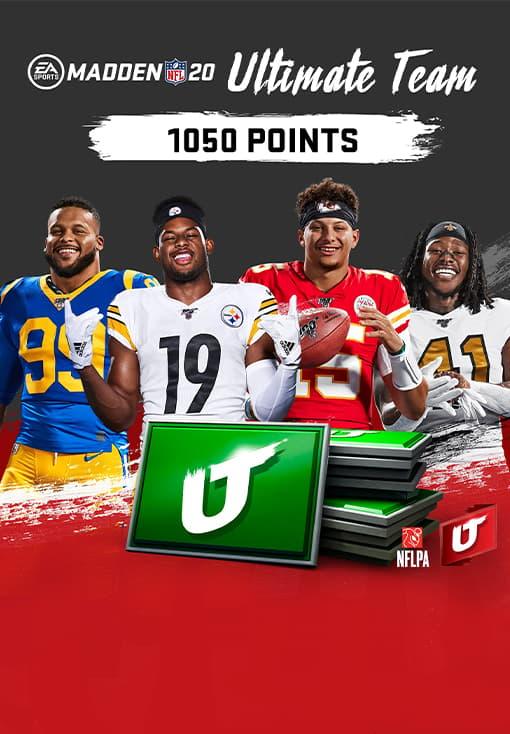Madden NFL 20: 1050 Madden Ultimate Team Points