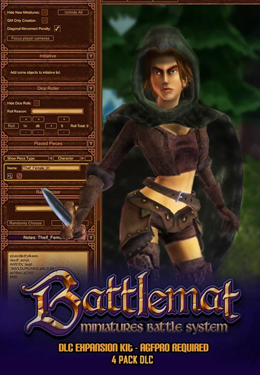 Axis Game Factory 's AGFPRO + BattleMat Multiplayer 4 Pack DLC
