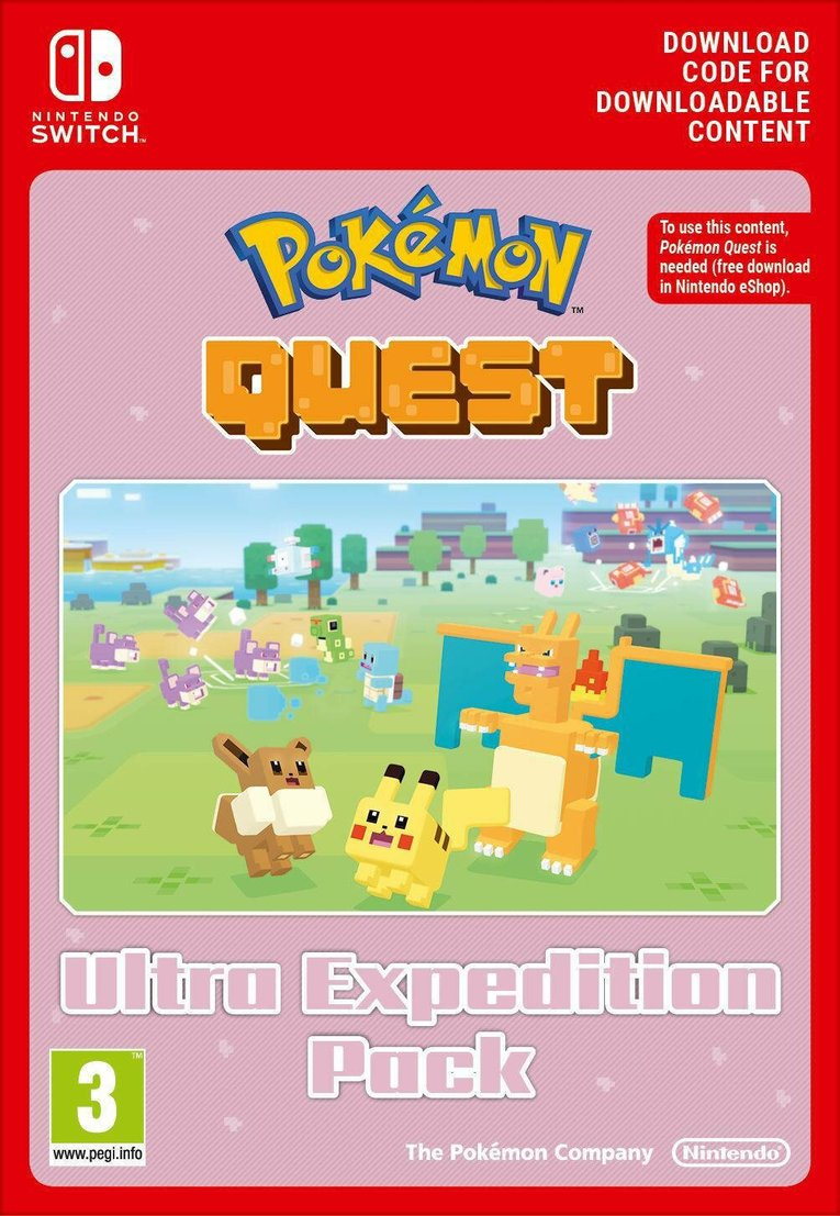 Immagine di Pokemon Quest Ultra Expedition Pack EU Nintendo Switch