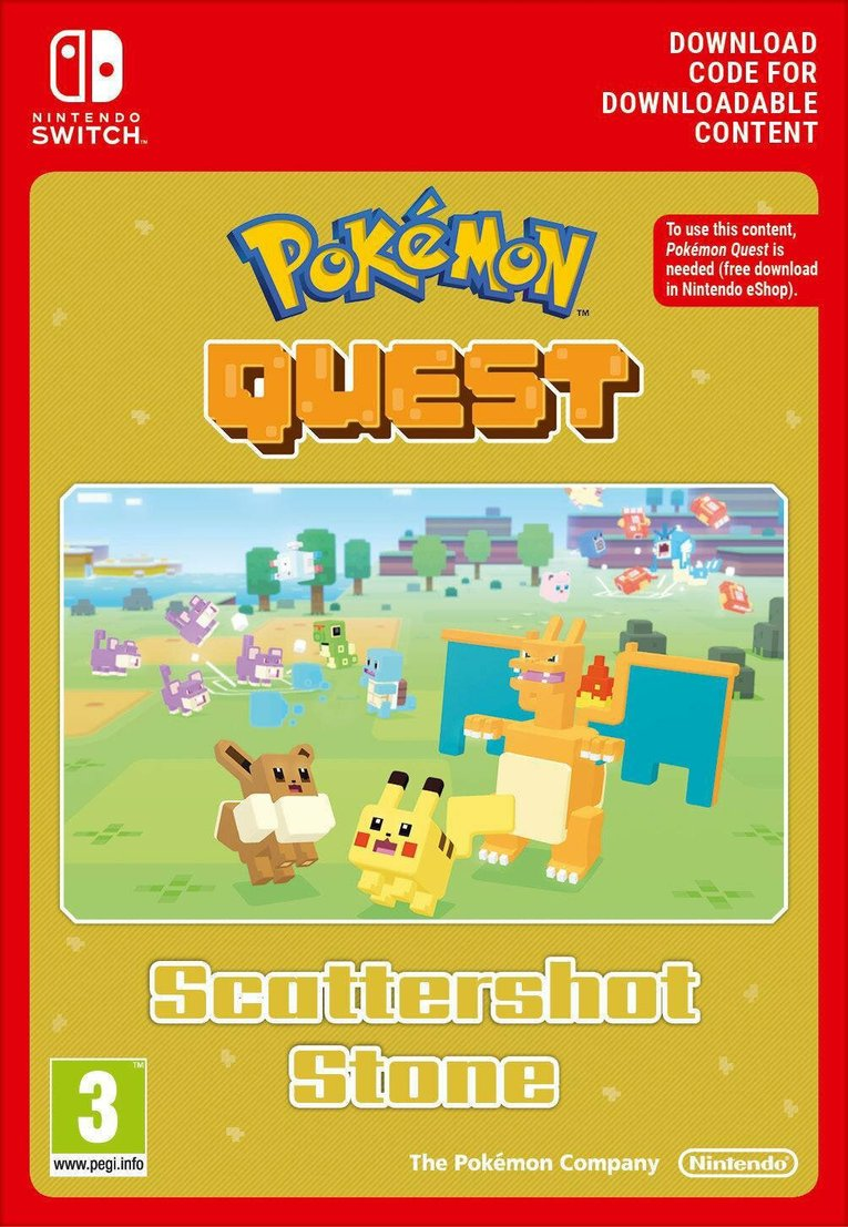 Obrazek Pokemon Quest Scattershot Stone EU Nintendo Switch