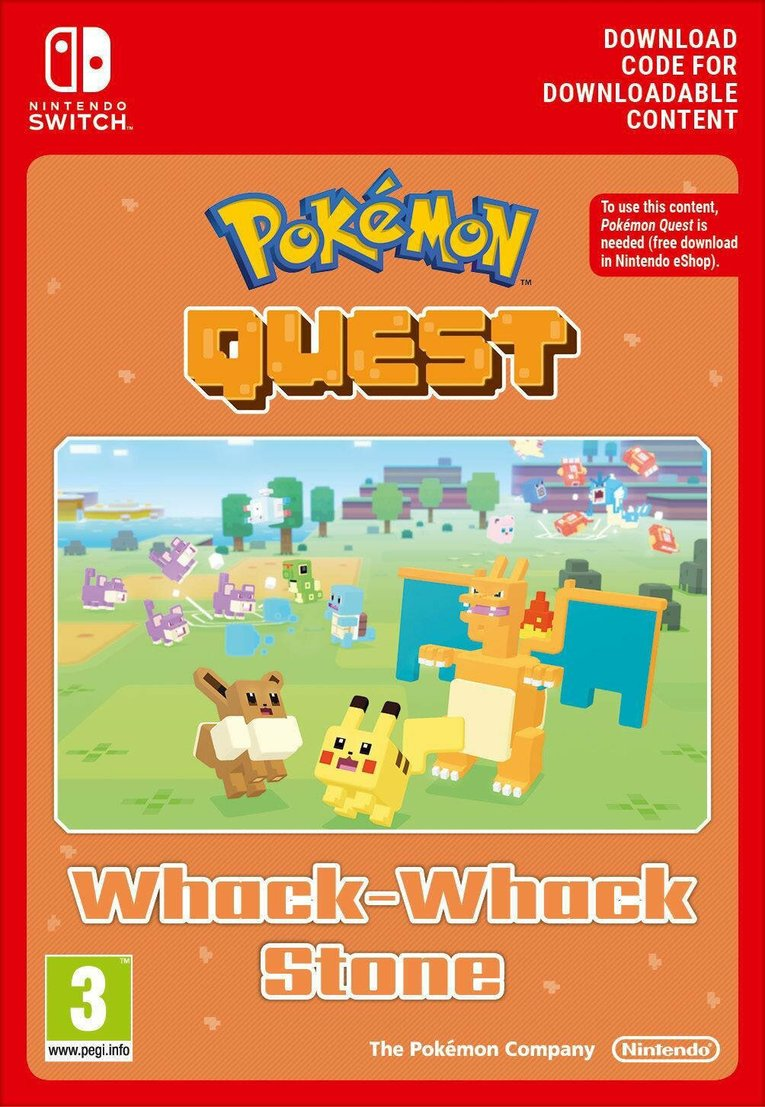 Immagine di Pokemon Quest Whack-Whack Stone EU Nintendo Switch