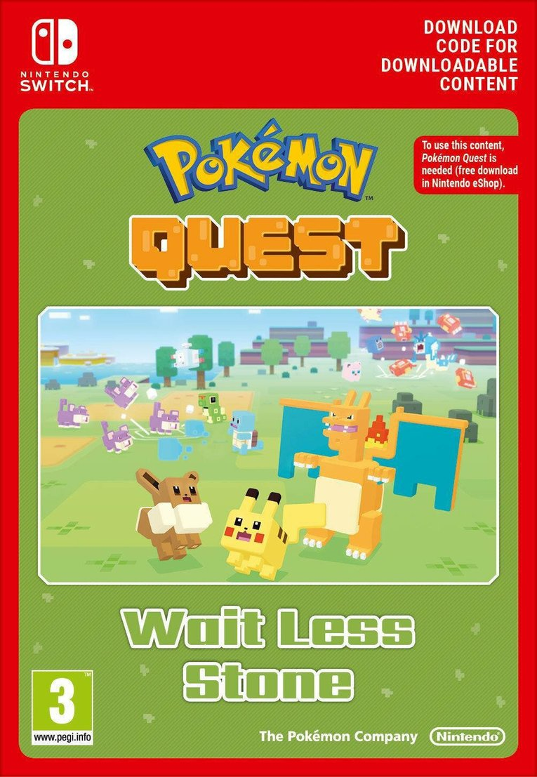 Obrazek Pokemon Quest Wait Less Stone EU Nintendo Switch
