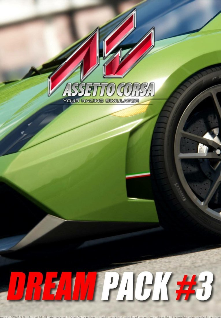 Assetto Corsa - Dream Pack 3 resmi