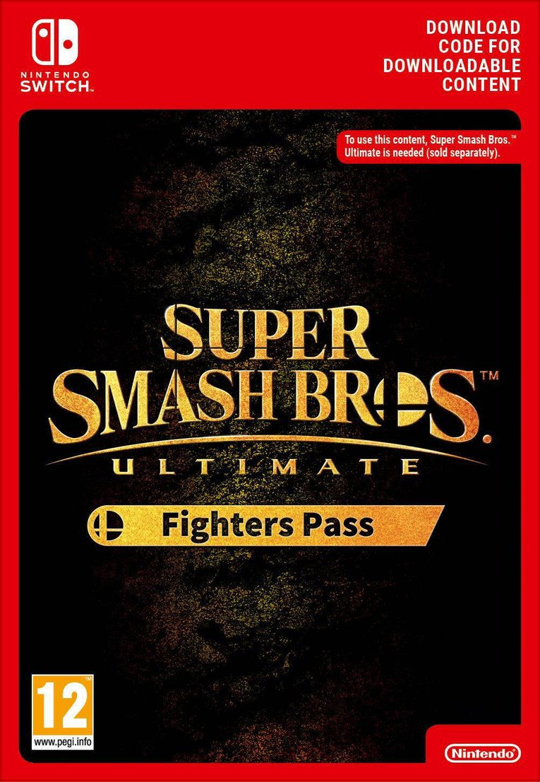Imagen de Super Smash Bros Ultimate Fighters Pass EU Nintendo Switch