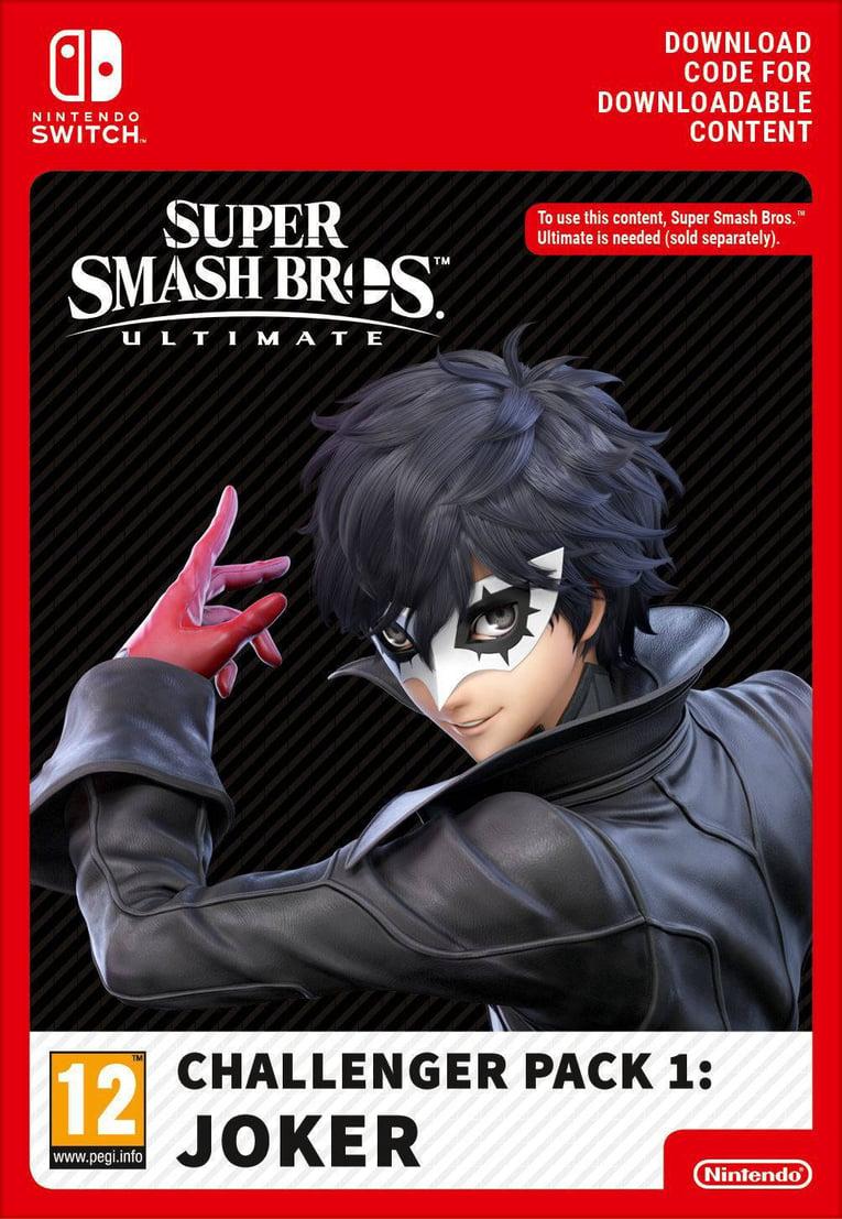 Imagen de Super Smash Bros Ultimate Joker Challenger Pack EU Nintendo Switch
