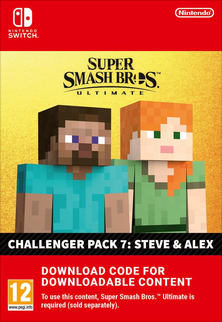 Imagen de Super Smash Bros Ultimate: Steve & Alex Challenger Pack EU Nintendo Switch