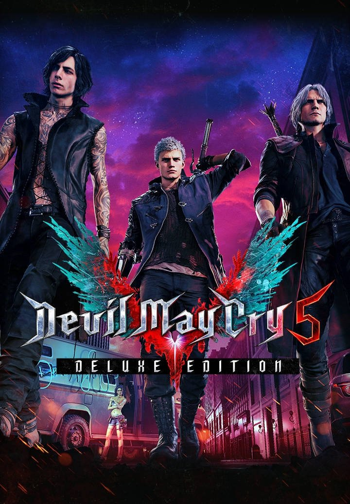Devil May Cry 5 Deluxe Edition resmi