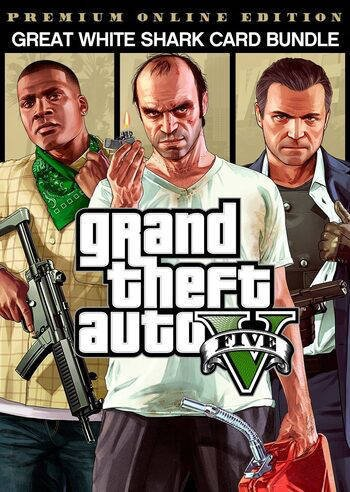 Grand Theft Auto V: Premium Online Edition & Great White Shark Card Bundle