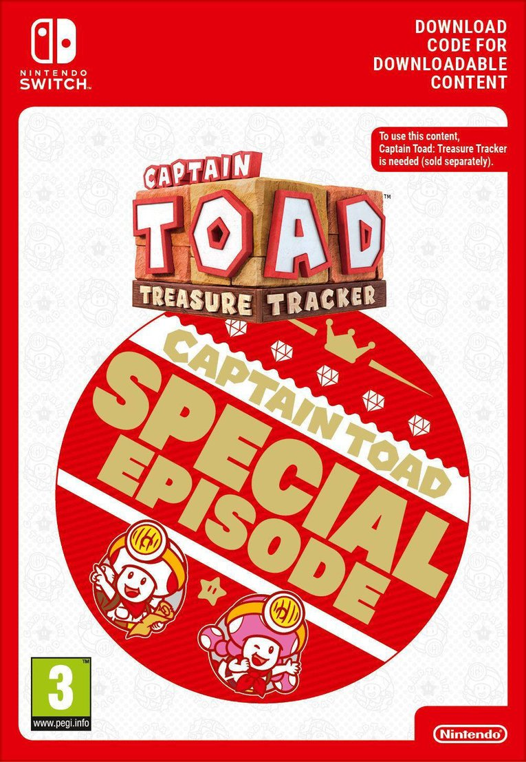 Obrazek Captain Toad: Treasure Tracker – Special Episode EU Nintendo Switch