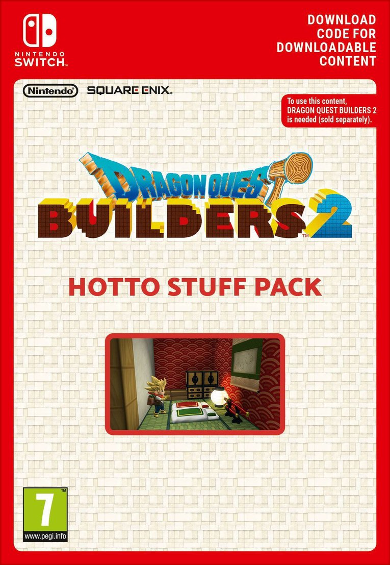 Obrazek Dragon Quest Builders 2 - Hotto Stuff Pack EU Nintendo Switch