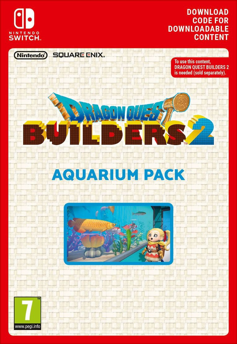 Obrazek Dragon Quest Builders 2 - Aquarium Pack EU Nintendo Switch
