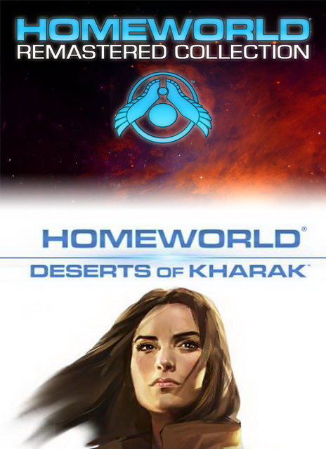 Homeworld Remastered Collection and Deserts of Kharak Bundle