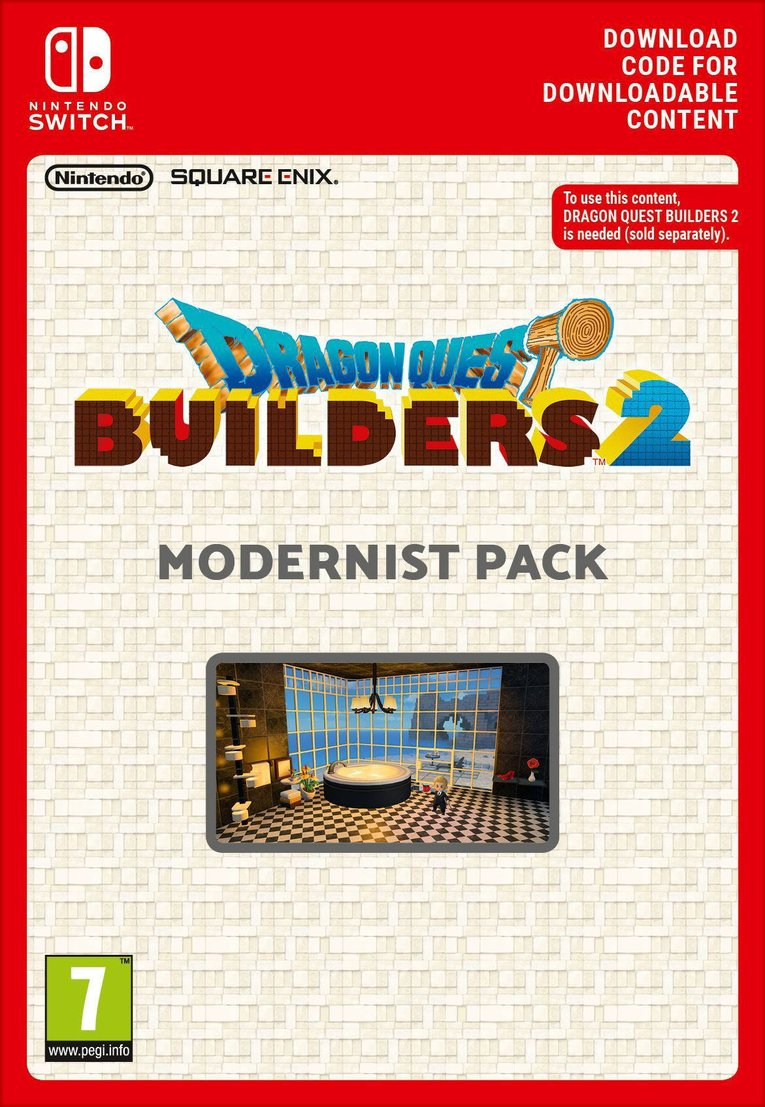 Obrazek Dragon Quest Builders 2 - Modernist Pack EU Nintendo Switch