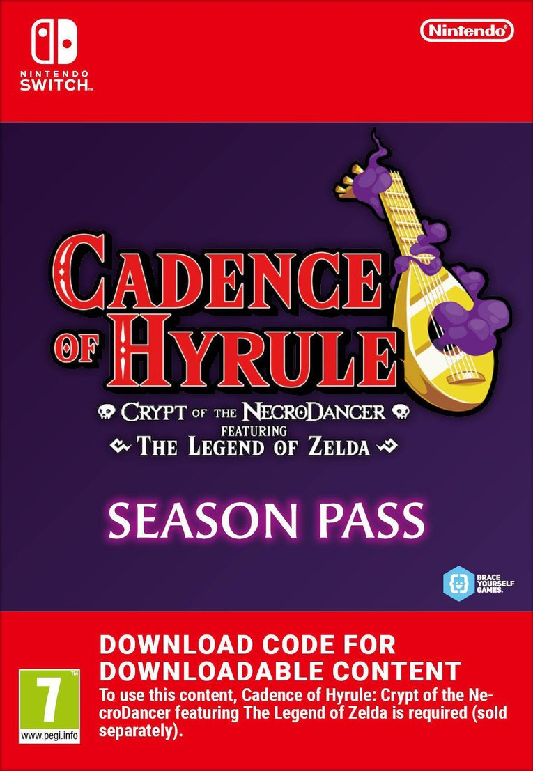 Obrazek Cadence of Hyrule – Crypt of the NecroDancer Featuring The Legend of Zelda Season Pass EU Nintendo Switch