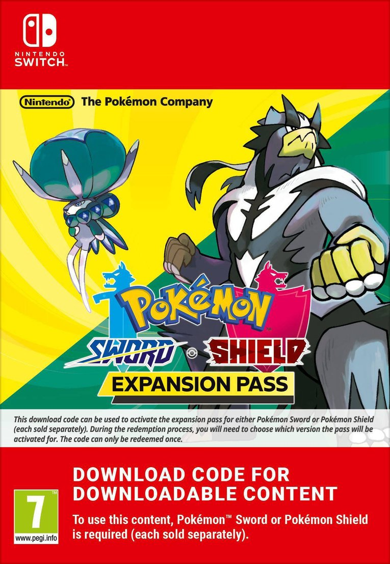 Imagen de Pokémon Sword + Pokemon Shield Expansion Pass EU Nintendo Switch