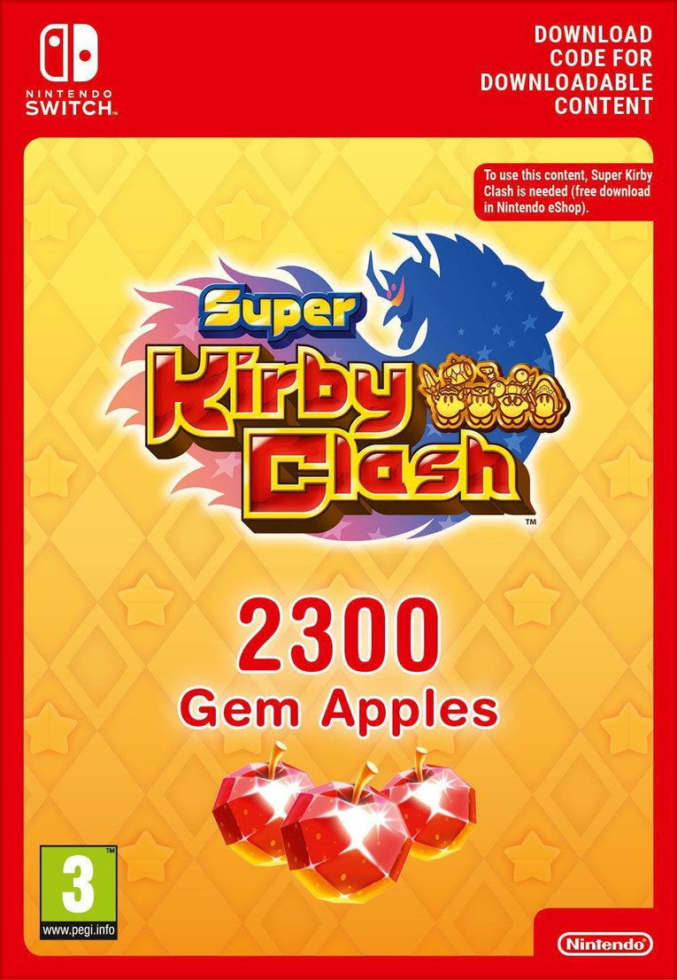 Imagen de Super Kirby Clash 2300 Gem Apples EU Nintendo Switch