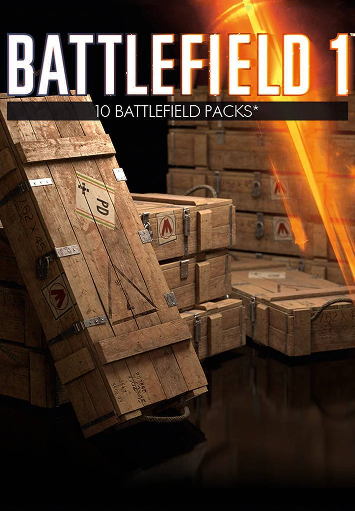Picture of Battlefield 1 Battlepacks x 10 ROW